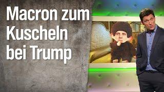 Macron zu Kuschelbesuch bei Trump