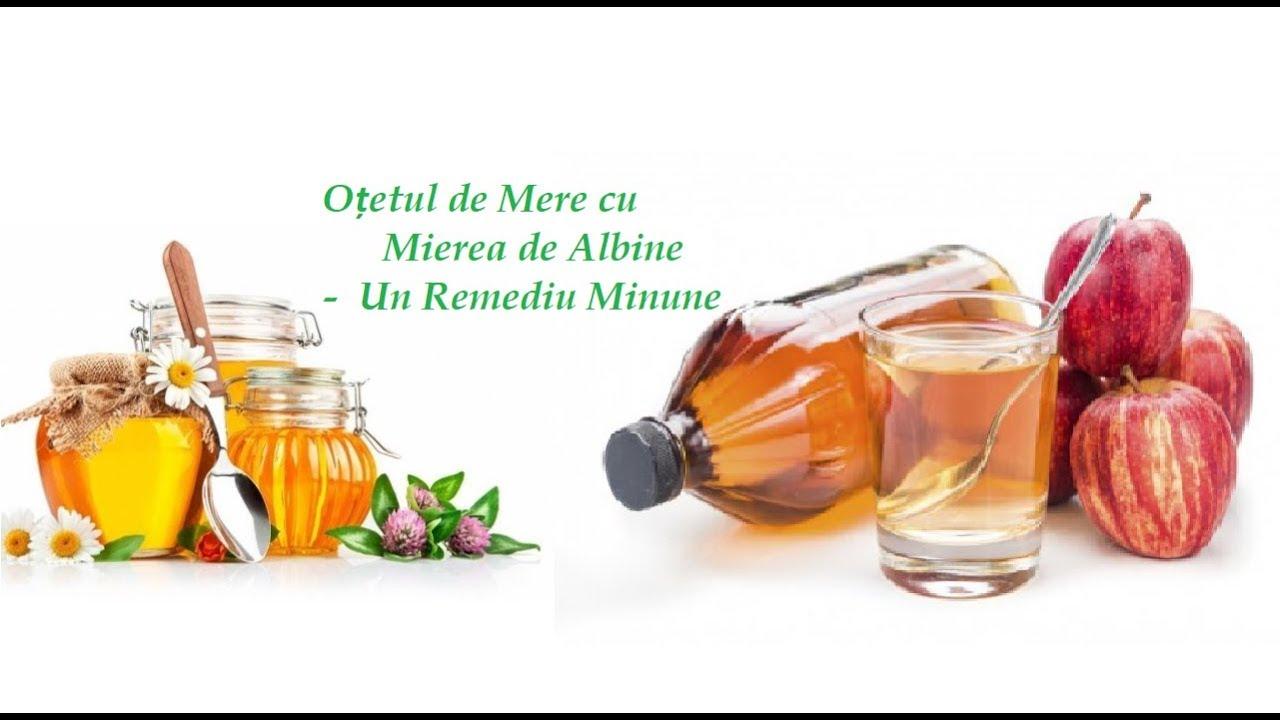 Oțetul de Mere cu Mierea de Albine - Un Remediu Minune (Leacuri&Sfaturi Despre Sănătate)