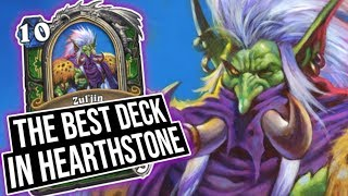 I HAVE THE BEST DECK IN HEARTHSTONE *laughs madly* | Saviors of Uldum | Hearthstone