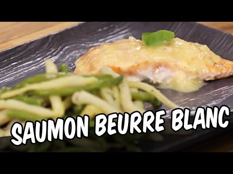 Saumon beurre blanc - YouCook