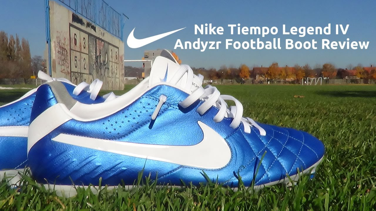 7de4e5bd8b2d Nike Tiempo Legend IV ACC Boot Test & Review - Andyzr - YouTube