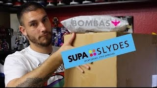 Unboxing Supa Slydes and Bombas