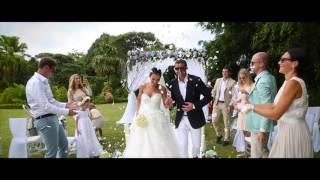 Свадьба на Маврикии. Кирилл & Элина
