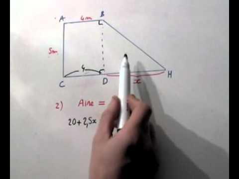 Exercice de mathematiques 4 ème sur la resolution d'équations. Maths : 4ème.3ème.
