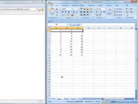 Importando y manipulando datos entre Matlab y Excel (0016)