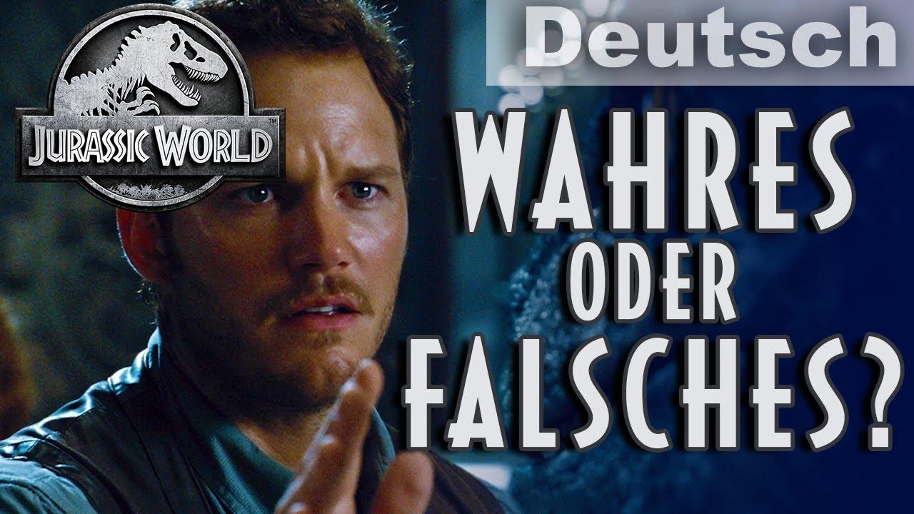 WAHRES oder FALSCHES Filmquiz | JURASSIC WORLD