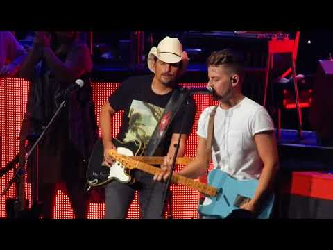 Brad Paisley with Chase Bryant- American Saturday Night