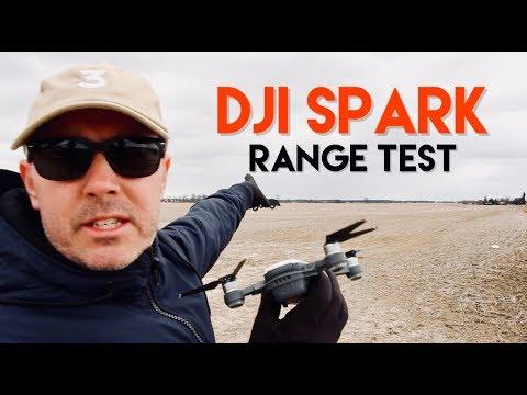 DJI SPARK RANGE TEST