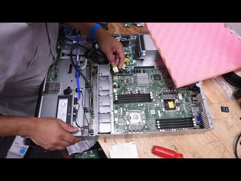 Dell PowerEdge R510 Internal Hard Drive Replacement by Bradford Hart