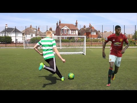 MARCUS RASHFORD FOOTBALL CHALLENGES