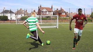 Marcus rashford football challenges