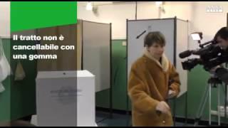 La matita elettorale doc, obbligatoria in tutte le votazioni dal 1946