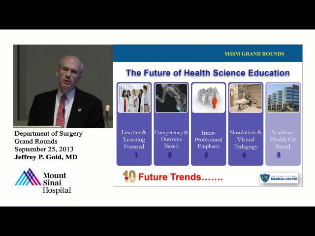 The Future of Health Sciences Education