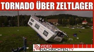 Tornado verwüstet Campingplatz, viele Kinder verletzt | Nachrichten | VideonachrichtenTV