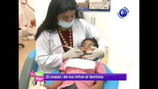 El miedo de los niños al dentista