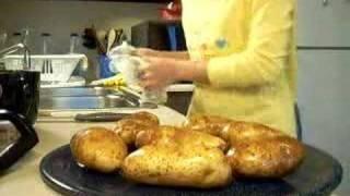 Twice-baked Green Jalapeno Potatoes - Part 1