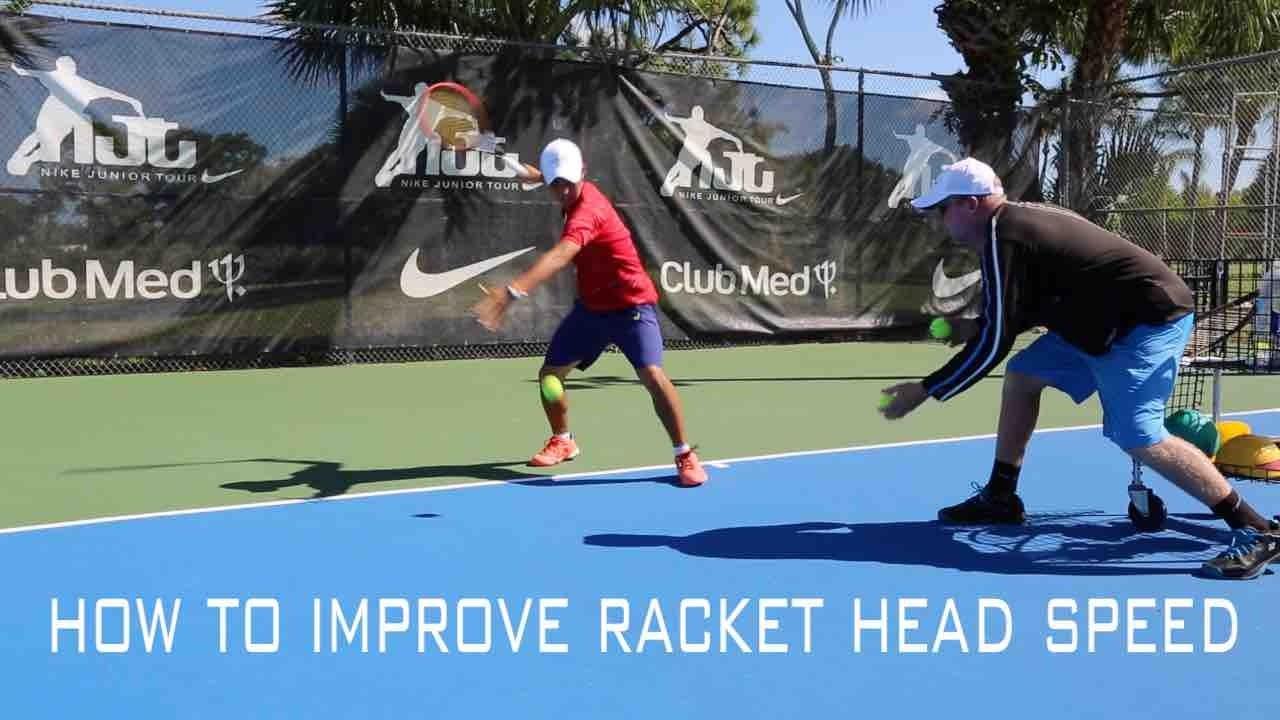 Tennis Training Aid Improve Racket head Speed