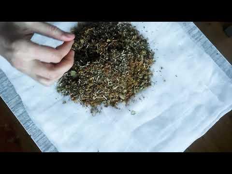 Как сделать травяные мешочки для массажа