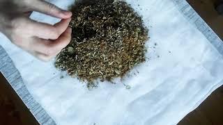 как сделать травяной мешочек для массажа живота 1