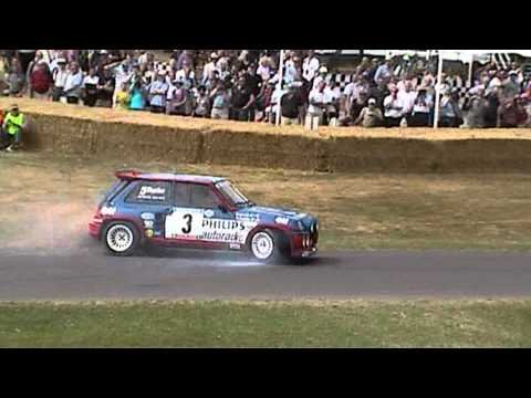 jean ragnotti 360 spin renault 5 maxi turbo goodwood fos 2010 youtube. Black Bedroom Furniture Sets. Home Design Ideas