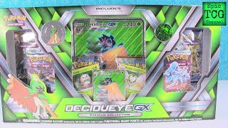 Pokemon Opening Decidueye GX Premium Collection Box EpicTCGChannel