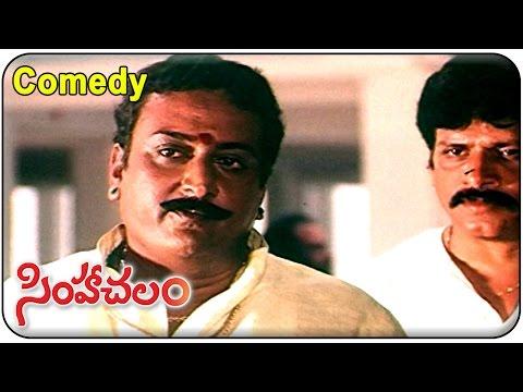 Simhachalam Movie || Prithvi Best  Comedy Scene  ||  Srihari, Meena, Prakash Raj