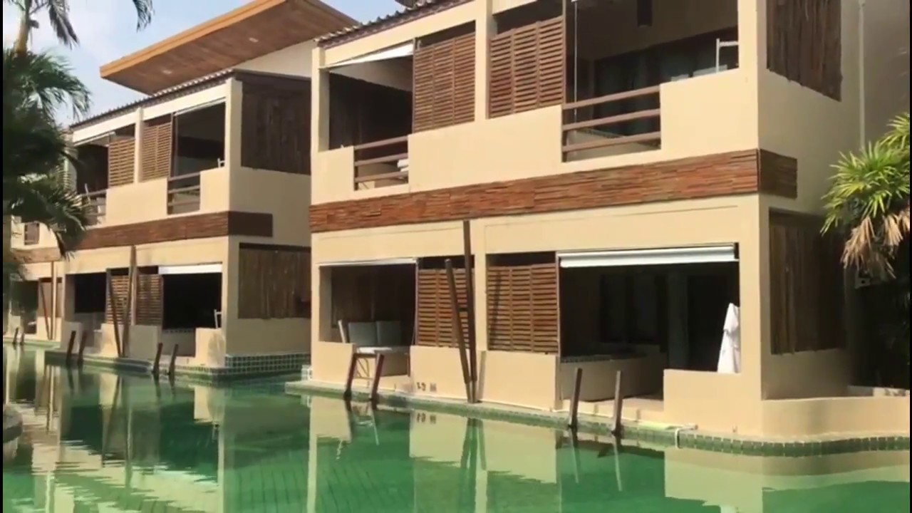 Qualia Jacuzzi Pool Villa The Hideaway Resort Hua Hin Thailand 2018 Hotel Tour Swim Up Rooms Jacuzzi In A Tropical Setting