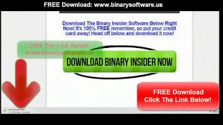 Binary Options Trading System - Free Download Best Strategy To Trade Binary Options Signals Live