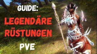Guild Wars 2 Guide: Legendäre Rüstungen Pąrt 1 - PvE Raid Rüstung