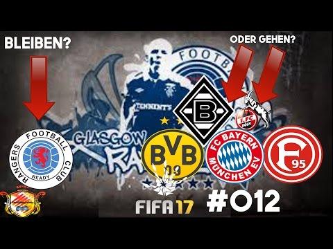FIFA 17 KARRIEREMODUS Glasgow Rangers #012 ►Bleiben oder in die Deutsche Liga wechseln?► SAISON 1