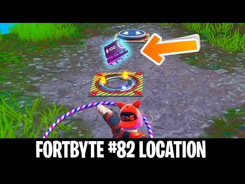 FORTBYTE #82 LOCATION - Accessible By Solving The Pressure Plate Puzzle NW of The Block
