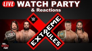 WWE Extreme Rules 2018 | Live Watch Party & Reactions