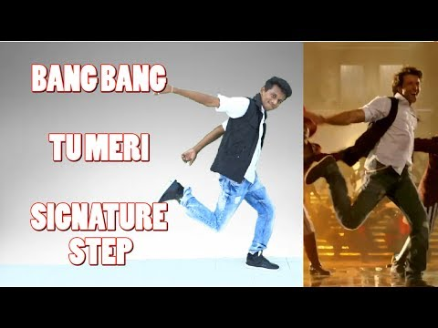 Tu Meri | Bang Bang | Signature Step Tutorial | Nishant Nair