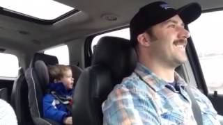 3 year old, Xavier, singing Toby Keith Shoulda Been a Cowboy