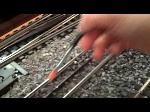 How To Ballast Model Train Tracks Youtube
