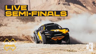 🔴 LIVE Semi-Final & Crazy Race! | Extreme E | Desert X Prix