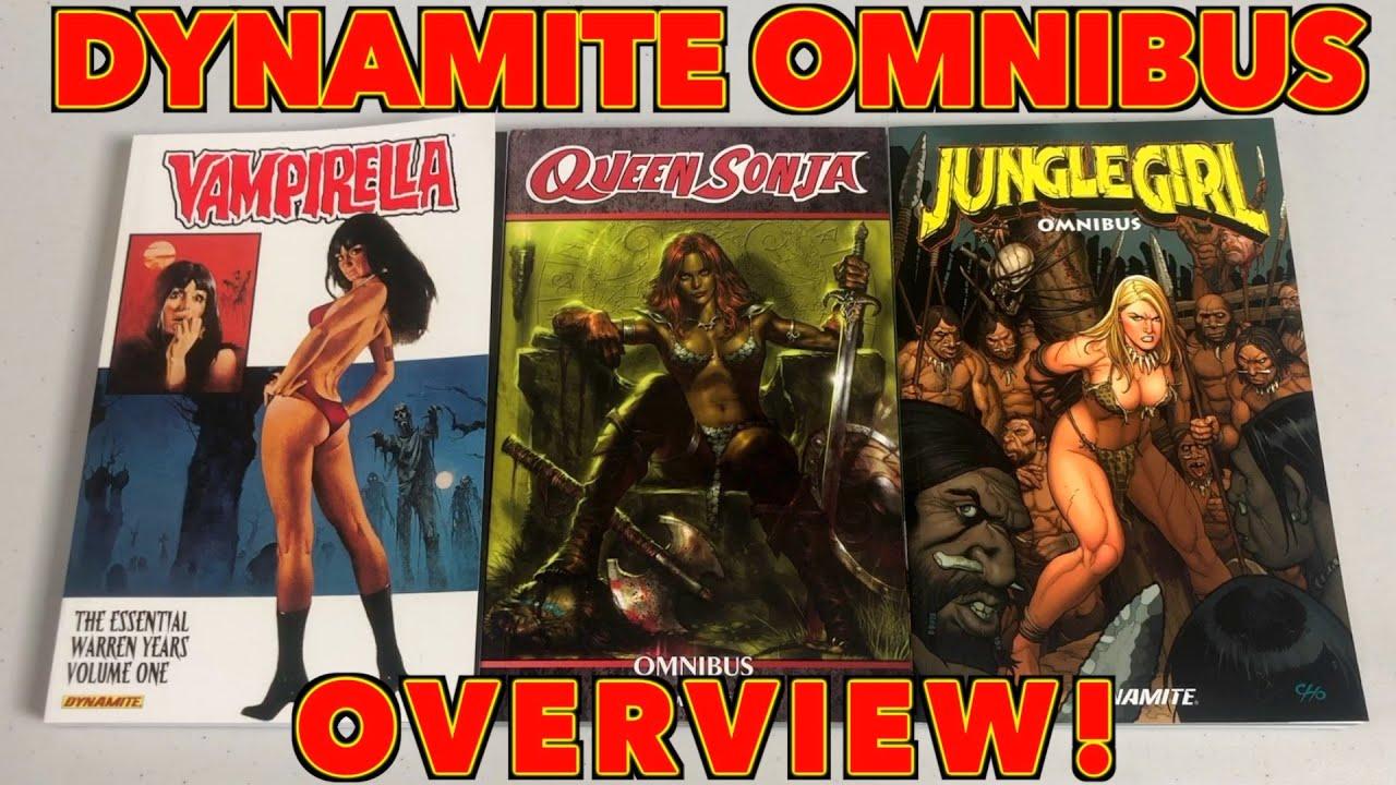 Queen Sonja Omnibus, Jungle Girl Omnibus and Vampirella Essential Overview!