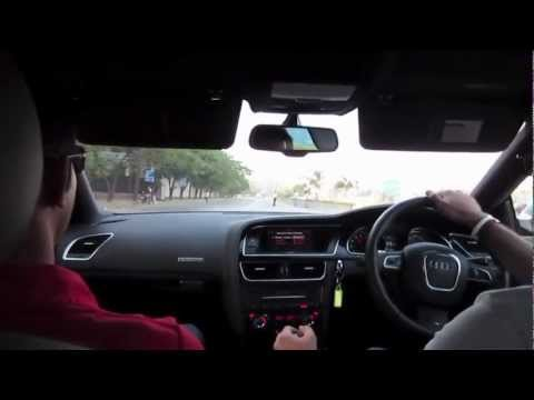RS5 Audi R-Drive Experience in Mumbai, India by Twent10
