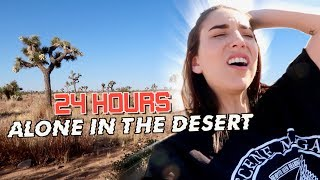 Surviving 24 HOURS ALONE In The Desert
