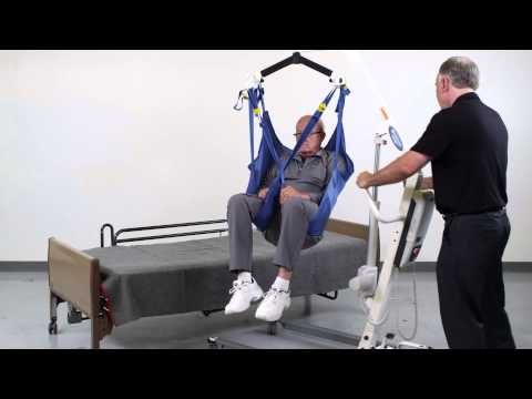 Patient Lift 6 Point Spreader Bar Sling Instructions And Transfer