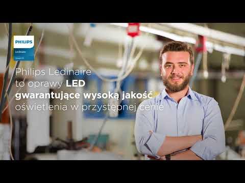 248a382f986082 Oświetlenie LED - oprawy ledowe Philips Ledinarie - YouTube