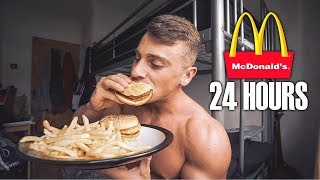 ONLY EATING MCDONALDS FOR 24HOURS... *BAD IDEA*