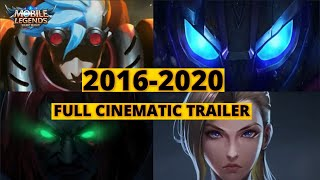 MOBILE LEGENDS ALL CINEMATIC TRAILERS | 2016 - 2020 : MOBILE LEGENDS BANG BANG