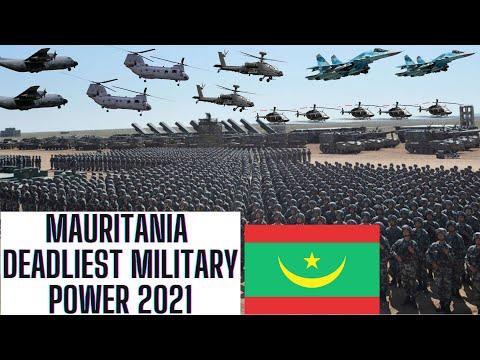 MAURITANIA Deadliest Military Power 2021   ARMED FORCES   Air Force   Army   Navy   #mauritania