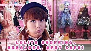 Lolita Shopping, Harajuku, Q-Pot Cafe! [Japan Tour 2015]