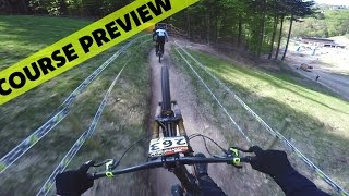 German Downhill Cup Winterberg 2016 Course Preview - Fabio Wibmer