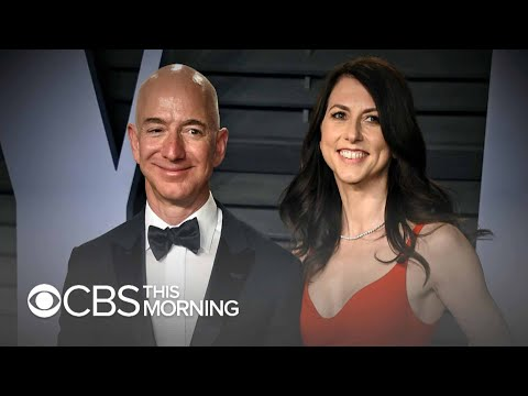 Jeff and MacKenzie Bezos share divorce terms