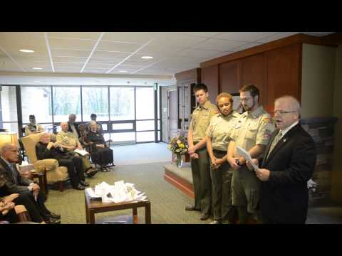 Boy Scouts of America Silver Buffalo Presentation to Cardinal William Keeler