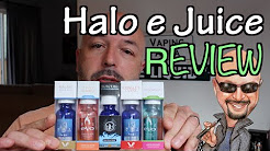 Halo e Juice Review 2016 By Halo Cigs +5% Coupon Link