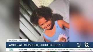 Two-year Old Found After Amber Alert Issued
